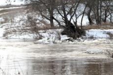 В Марий Эл началось половодье, уровень воды в реках повысился