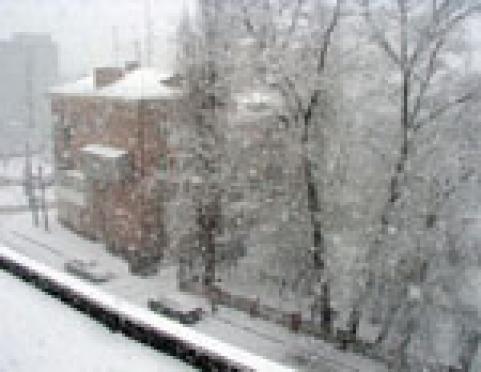 Крещенские морозы в Марий Эл придут благодаря Сибирскому антициклону