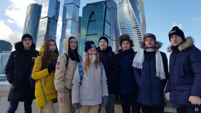 Йошкаролинцы побывали на I Всероссийском молодежном патриотическом форуме «Я — Юнармия!»