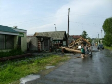 Четыре жителя Параньги пострадали во время урагана (Марий Эл)