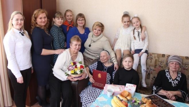 Жительница Йошкар-Олы отметила 100-летний юбилей