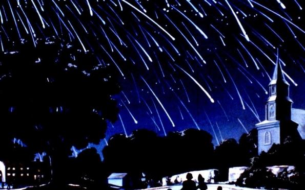 Сегодня ночью ожидается звездопад
