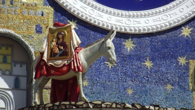 На площади Оболенского-Ноготкова пропал ослик