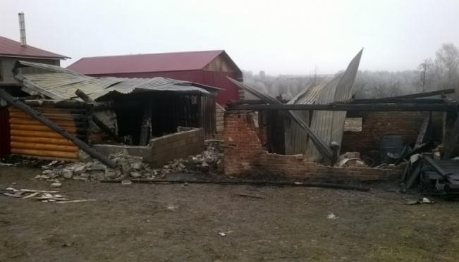 Очередной «печной» пожар зарегистрирован в Марий Эл