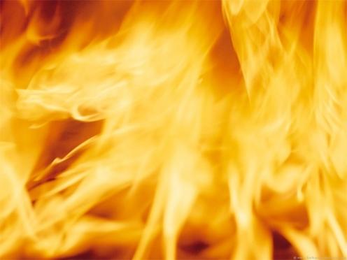 Сегодня ночью в центре Йошкар-Олы сгорели хозпостройки