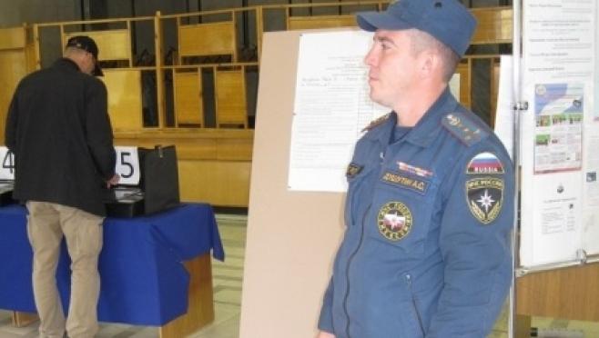 Пожарные республики обследовали все избирательные участки
