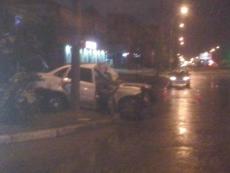 Дожди стали причиной ночного ДТП в Йошкар-Оле