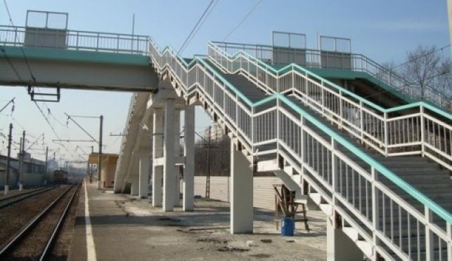 Железнодорожники занялись пешеходным мостом в Йошкар-Оле