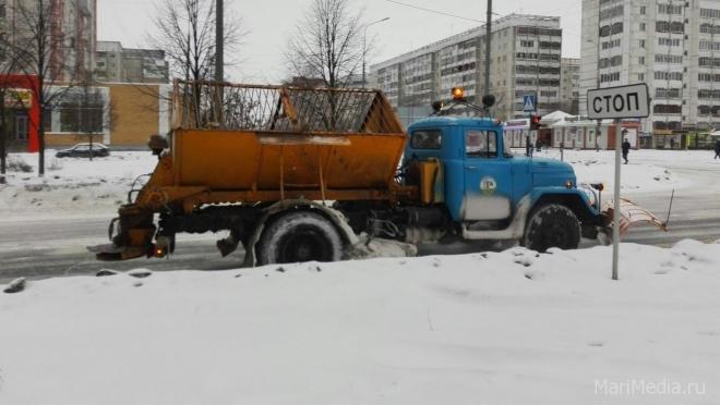 В Йошкар-Оле проходит крупномасштабная операция по уборке снега