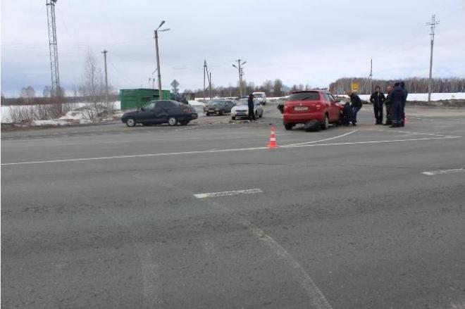 В Звениговском районе в ДТП пострадала женщина и 5-летний ребенок