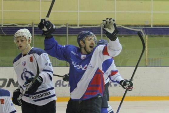 Волжская «Ариада» начала поправлять свое турнирное положение в чемпионате ВХЛ