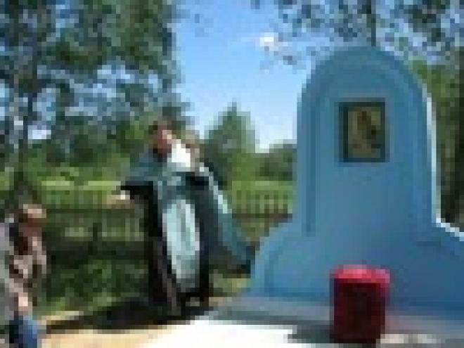 В Марий Эл у святого Владимирского источника появилась часовня