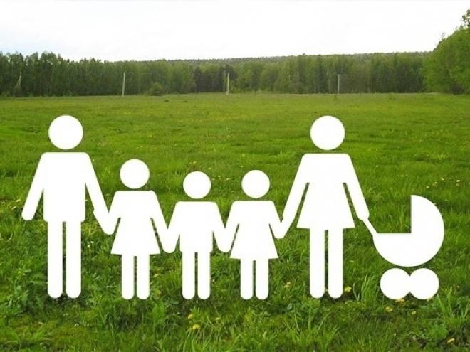 Многодетные семьи готовы осваивать целину