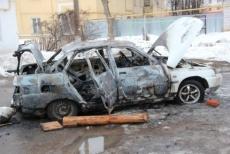 Водитель из Йошкар-Олы сам поджог свой автомобиль