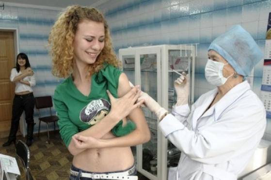 Жители трёх муниципальных образований не спешат вакцинироваться против гриппа