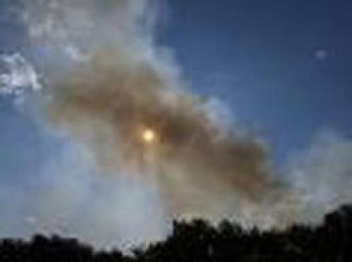 Лесной пожар в Медведевском районе ликвидирован