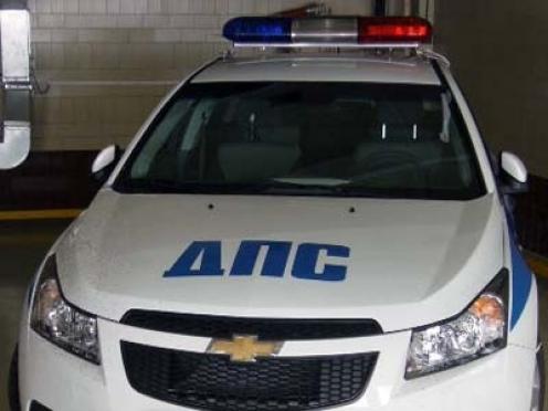 Волжский подросток на иномарке протаранил машину ГИБДД