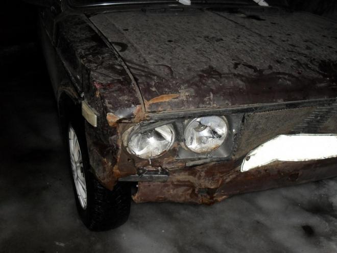 В Марий Эл пьяный водитель врезался в машину и скрылся с места аварии