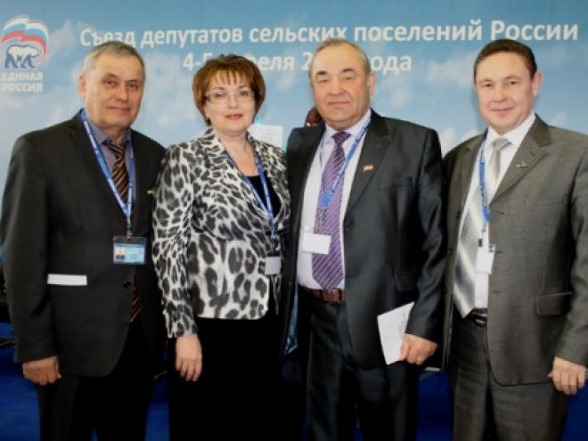 В Волгограде проходит съезд депутатов сельских поселений России