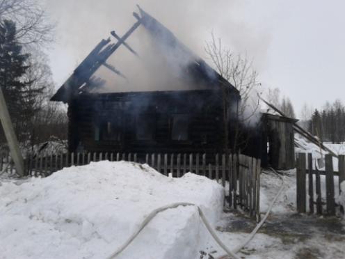 В Марий Эл два человека погибли на пожарах