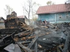 В Марий Эл в собственном доме сгорела пенсионерка