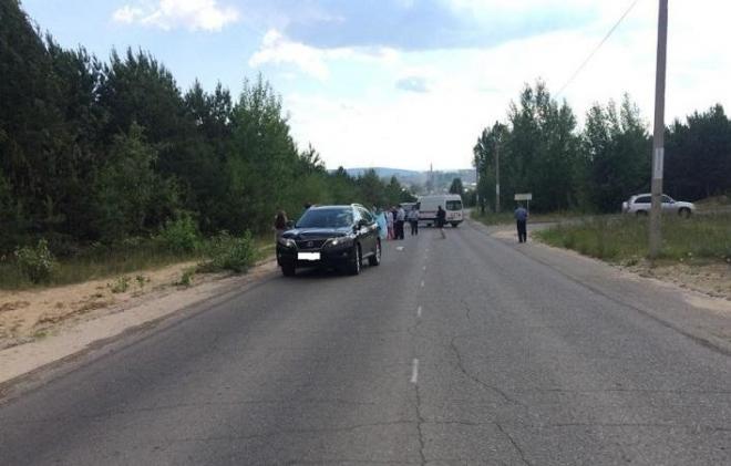 В Волжске Lexus насмерть сбил женщину-пешехода