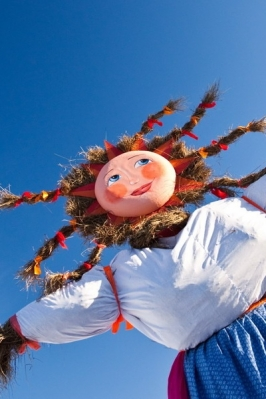 Масленичная горка. Календарно-обрядовый фолк фестиваль «Ӱярня курык!»
