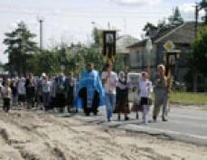 Девятый год подряд крестный ход с Седмиозерной иконой Божьей Матери шествует по Марий Эл