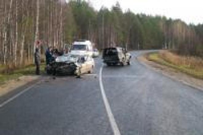 В Марий Эл в автомобильной аварии пострадали 6 человек