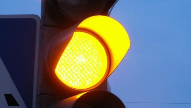В Йошкар-Оле светофоры ночью будут мигать жёлтым