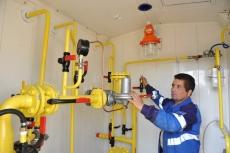 В три деревни Моркинского района Марий Эл пришел природный газ