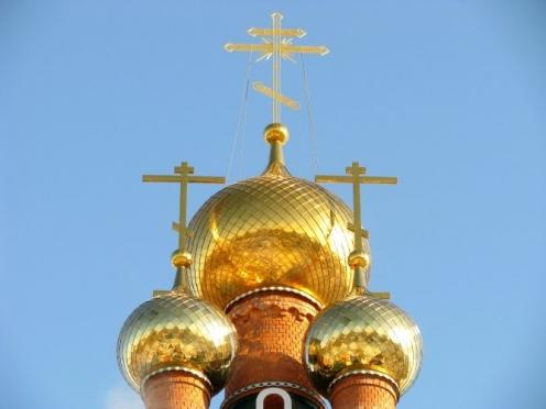 Над кафедральным собором Благовещения Пресвятой Богородицы поднимутся купола