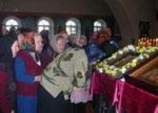 Священнослужители Марий Эл обратились к чудотворному образу Божьей Матери «Неупиваемая чаша»