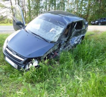 Два водителя и один пешеход пострадали в ДТП за минувшие сутки