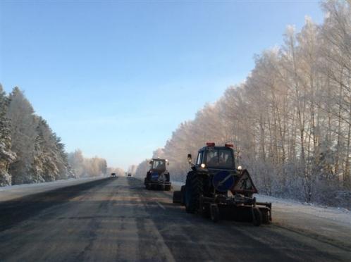 ГИБДД сообщает: Кокшайский тракт засыпало снегом