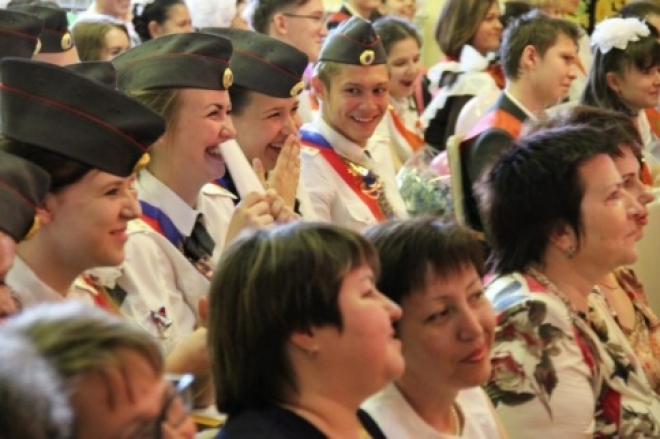 «Последний звонок» прозвенел накануне и для первого кадетского класса МВД