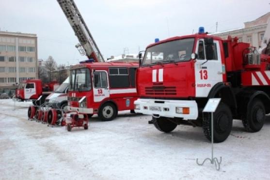 Трое суток у пожарных Марий Эл не было работы