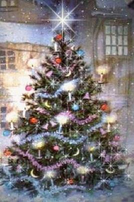 Ночь накануне рождества постер