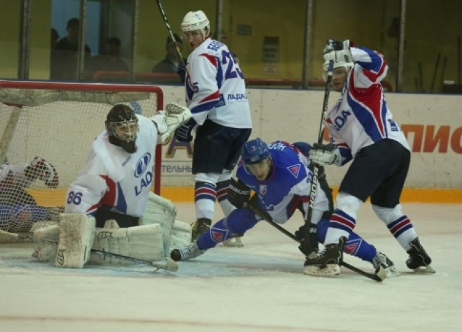 Хет-трик Михайлова решил исход матча «Ариада» — «Лада»