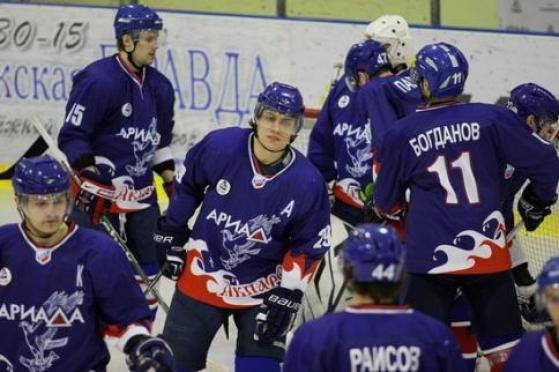 Волжская «Ариада» переиграла команду с игроком из НХЛ