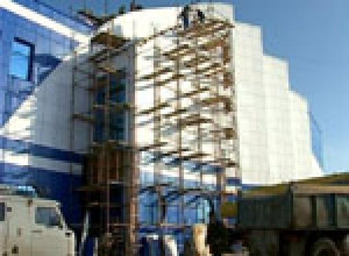 Энергетики Марий Эл подвели свет к зданию Дворца водных видов спорта