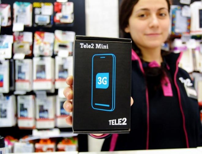 Продажи смартфона Tele2 Mini выросли в три раза