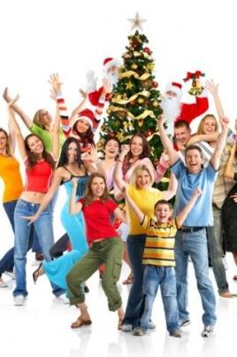 Новогодний бал-маскарад для молодежных организаций постер