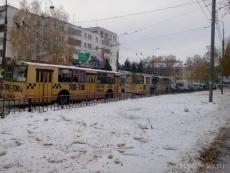 Впервые в новогоднюю ночь по Йошкар-Оле будут курсировать троллейбусы