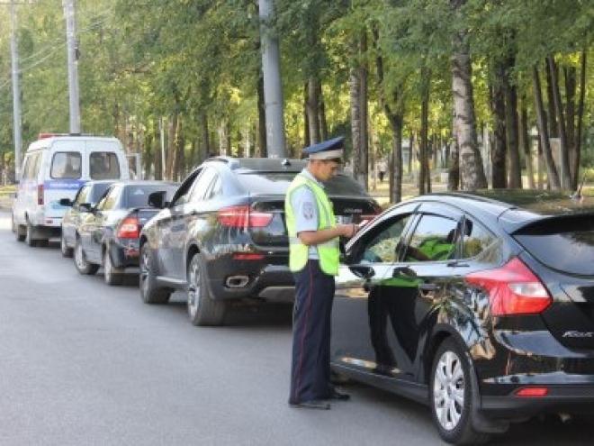 Субботним утром сотрудники ГИБДД будут проверять водителей