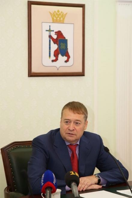 Леонид Маркелов встретился с руководством Йошкар-Олы