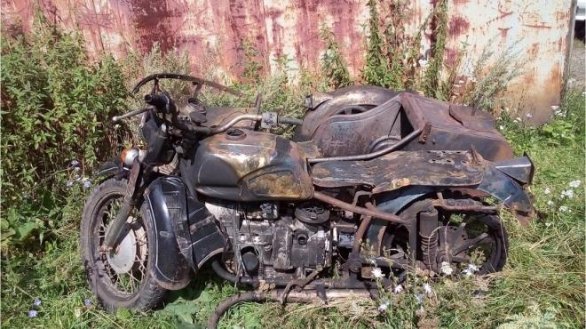 Мотоциклист попал в больницу в результате ДТП