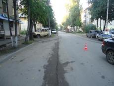 В Йошкар-Оле в первый день осени под колеса иномарки попала пенсионерка