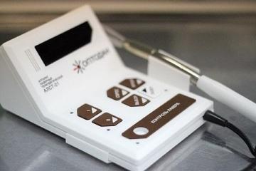 Физиотерапевтический полупроводниковый лазер «Оптодан» с микропроцессорным управлением
