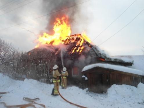 16 человек погибли на пожарах в Марий Эл за первый месяц года